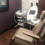 treatment area in a Dermatologist Office in West Palm Beach