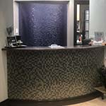 reception area in a Dermatologist Office in West Palm Beach