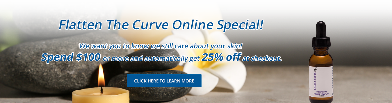 Flatten The Curve Online Special at Beer Dermatology West Palm Beach