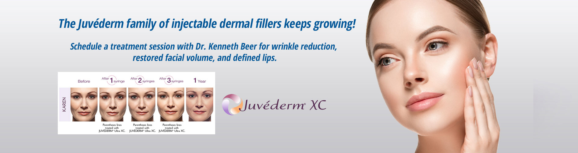 Juvederm Treatment  At Beer Dermatology West Palm Beach