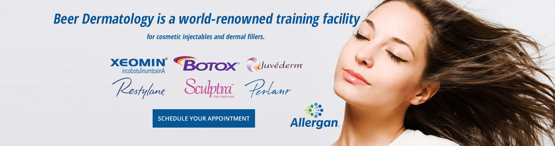 Beer Dermatology is a world-renowned training facility for cosmetic injectables and dermal fillers