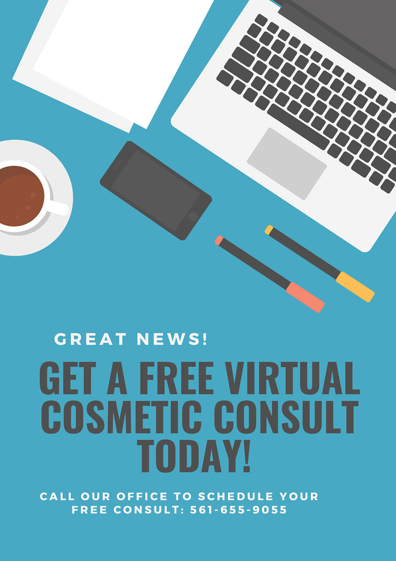Virtual Consultation promo banner - Dr. Kenneth Beer